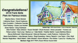 "Courtesy photo &nbsp&nbsp Barbara Tapp's watercolor ""Colors of Alameda"" won an award at the Plein Aire Paintout this year."