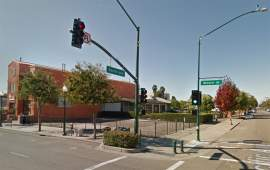 Google Earth  A three-story 14,300-square-foot building is planned for this vacant lot next door to Otaez Restaurant on Webster Street.