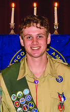Courtesy photo &nbsp&nbsp Peter Murphy is Alameda's newest Eagle Scout.