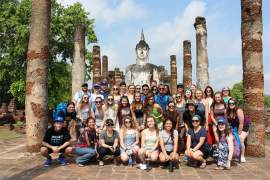 Courtesy photo  St. Joseph Notre Dame students enjoyed a visit to Thailand over the Easter break.