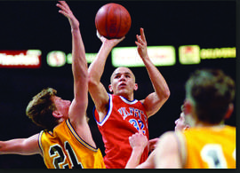 Courtesy Jason Kidd. Jason Kidd began his basketball career in Alameda with St. Joseph Notre Dame High School's Pilots. He led the local team to two consecutive state titles.
