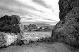"Courtesy photo Richard Whittaker's ""Trona Pinnacles"""