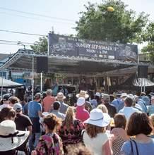 Photo: Rachel Campos &nbsp&nbsp Aki Kumar, performing (above) at last year's Blues Brews and BBQ Festival, will perform again this year.