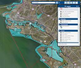 City of Alameda &nbsp&nbsp The image above was taken directly from the City of Alameda's CommunityView website. The site provides information on the new flood plain maps and many other geographic topics.