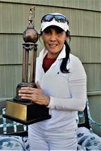 Bobbie Hoepner &nbsp&nbsp Tai Chewpanich won her second straight Club Championship by more than 30 strokes.