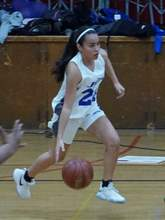 Encinal Boosters &nbsp&nbsp Jeanine Rivera has led the Jets in 3-point shooting. The junior dropped an impressive 30 points against the Skyline on Dec. 9.