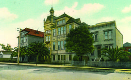 File photos &nbp&nbsp Alameda's Porter School as it originally appeared in 1879. The school board named it for Nathan Porter, one of their members.