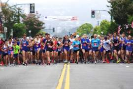 Ed Jay &nbsp&nbsp&nbsp  More than 800 athletes from all over were at the starting line at 9 a.m. sharp on the Fourth of July to take part in the Alameda 5K Ralph Appezzato Charity Event (R.A.C.E). Even Mayor Trish Spencer competed in the annual event.