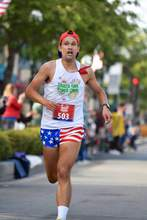 Ed Jay &nbsp&nbsp John Williams, 27, was the overall winner at this year's Mayor's Fourth of July 5K R.A.C.E. celebrating former Alameda Mayor Ralph Appezzato.