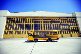 Courtesy photo &nbsp&nbsp The Tinker Bus, a former school bus turned STEAM laboratory and classroom, will visit libraries on upcoming Saturdays.