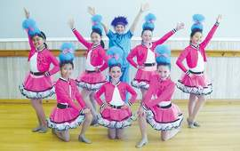 """Courtesy photo &nbsp&nbsp Above and below, the West Coast Dance performing troupe is ready to present """"Dance to the Music"""" in Alameda. It marks the group's 45th annual show."""