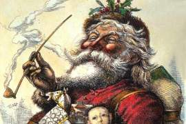 File photo  Between this week's edition and next, Santa Claus will have completed his annual task of delivering gifts to all worthy Alameda children. This particular depiction of Santa was created by famed political cartoonist, Thomas Nast.