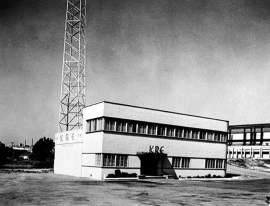 KRE Radio had been in this Berkeley building for 12 years when this photo was taken in 1949. File photo