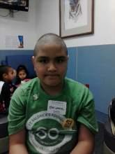 Photo Courtesy Minerva Perez,  Martinez sports her new haircut.