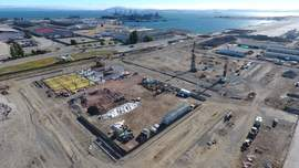 Courtesy Alain McLaughlin Photography &nbsp&nbsp A drone aerial view gives a great perspective on where the new project is located.