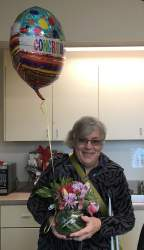 Courtesy photo  Ruth Ann Crawford retired from the Alameda Fire Department last week.