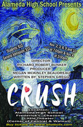 Courtesy photo &nbsp &nbsp The other-worldly play Crush performed by Alameda High School's drama department starts tonight.