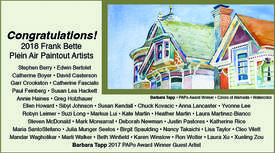 """Courtesy photo &nbsp&nbsp Barbara Tapp's watercolor """"Colors of Alameda"""" won an award at the Plein Aire Paintout this year."""