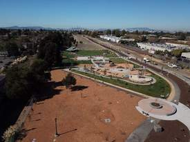 Courtesy photo &nbsp&nbsp A drone photo of Jean Sweeney Open Space Park