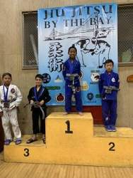 Courtesy Team Silva &nbsp&nbsp Alamedan Jonathan DeLeon won his age category at a June 16 Jiu-Jitsu competition.
