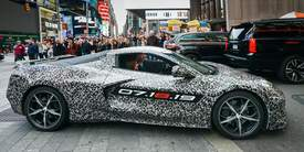 Courtesy photo &nbsp&nbsp General Motors' new Corvette has the automotive world buzzing. The first off the assembly line became available Thursday, July 18.