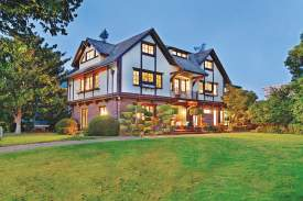 File photo &nbsp&nbsp Julia Morgan and Ira Hoover designed this Tudor Revival-style home for George and Lucy Walker in 1909. This is just one of seven homes that Morgan designed in Alameda.