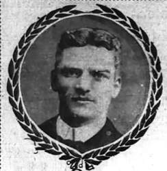 San Francisco Chronicle &nbsp&nbsp The March 25, 1903, edition of the San Francisco Chronicle ran this wreathed photograph of Sheridan Chipman with the story of his murder.