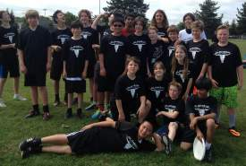Courtesy photo. Alameda's Junior Meat Ultimate Frisbee team poses after being named state champs.
