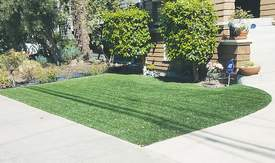 Courtesy photo &nbsp&nbsp An artificial lawn adds none of the environmental benefits of turf grass and can lead to runoff problems.