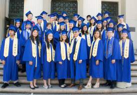Courtesy photo  Alameda Science & Technology Institute or ASTI, a public magnet school, recently graduated its Class of 2016.