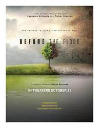 Courtesy photo &nbsp&nbsp Before the Flood, a 96-minute documentary, premieres at Alameda Library this Sunday.
