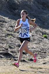 Kristina Nelson &nbsp&nbsp Shelby Nelson keeps a brisk pace at the WACC cross-country final Saturday, Nov. 3
