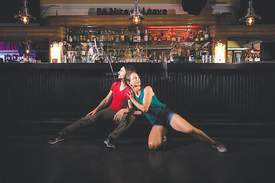 """Maurice Ramirez Photography &nbsp&nbsp A scene from """"Stop, Drop, Drink"""" a new series of short dance performances taking place inside Webster Street's Fireside Lounge starting Saturday, Sept. 28."""