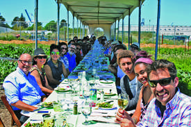 Courtesy photo &nbsp&nbsp Come on down to the Alameda Point Collaborative farm Saturday, May 19, for an amazing meal that raises funds to support fellow Alamedans.