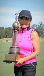 Bobbie Hoepner &nbsp&nbsp Tai Chewpanich earned the Club Championship trophy for the third straight year.