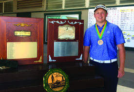 Photos courtesy amateurgolf.com &nbsp&nbsp Ryan Grauman found his way back from third place to win the 91st annual Alameda Commuters Golf Tournament.