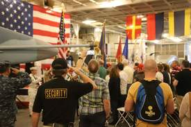 Courtesy photo &nbsp&nbsp Veterans Day will mark the 20th anniversary of the USS Hornet Museum.