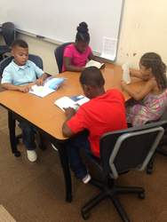 Courtesy photos &nbsp&nbsp&nbsp&nbsp Members of the Alameda Boys and Girls Club get help from club staff to complete their homework. The club provides many great opportunities for youth to learn and grow after school each day. The club aims to support those without means to fund childcare and provide a safe, productive environment for Alameda youth to gather, learn and share.