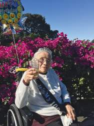 Courtesy photo &nbsp&nbsp Maria Rita Baca recently turned 100.