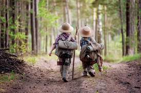 File photo &nbsp&nbsp Hikers of all ages are invited to take part in the library's first virtual group hike.