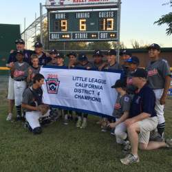 Courtesy Photo This is the 14th time in 21 years the Alameda 12-year-old team has been crowned district champions.