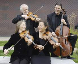 R. Beach  The New Esterhazy Quartet kicks off Rhythmix Cultural Works' first-ever classical concert series Friday, Jan. 8, at 8 p.m.