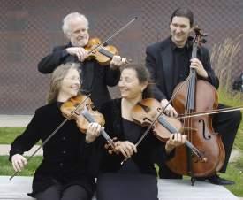 R. Beach  The New Esterhazy Quartet kicks off Rhythmix Cultural Works' first-ever classical concert series Friday, Jan. 8, at 8 p.m.
