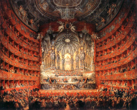 "Courtesy Wikipedia  This 1747 painting by Giovanni Paolo Panini ""Teatro Argentina"" captures the panoply of the opera. Locals can learn to appreciate opera at two upcoming events."