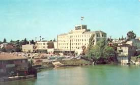 Courtesy Alamedainfo.com  A historic view of Alameda Hospital