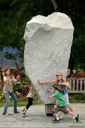 Courtesy photo &nbsp&nbsp A Rockspinner is one of the public art proposals the City of Alameda is considering.