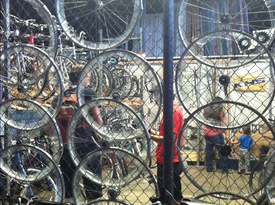 Courtesy thealamedan.org &nbsp&nbsp Changing Gears Bicycle Shop is closing shop after being unable to secure a new space. The award-winning nonprofit has announced it will shut down after 12 years in operation at Alameda Point.