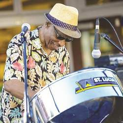 Courtesy photo &nbsp&nbsp Don't miss the Shabang Steel Drum band at this year's Island Jam on Webster Street.