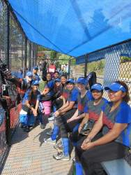 Courtesy photo - The St. Joseph Notre Dame High School Lady Pilots softball team went undefeated in league play this season.
