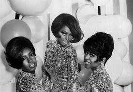Library of Congress &nbsp&nbsp The Supremes in 1967: From left, Mary Wilson, Diana Ross and Cindy Birdsong. Learn how music helped change American culture through the stylings of Motown starting next Thursday, Jan. 18.